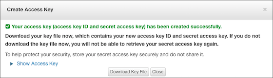 remove rotate aws access keys